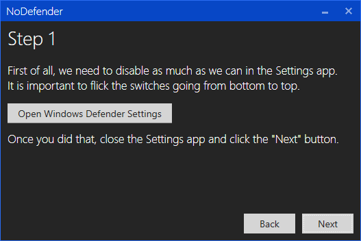 Disable Windows Defender Permanently in Windows 10 Screenshot 8