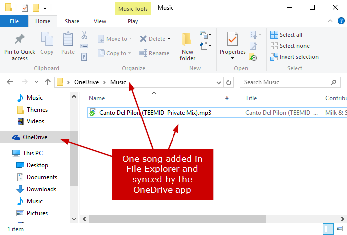 How to Stream Music from OneDrive to your PC, Phone or Xbox using