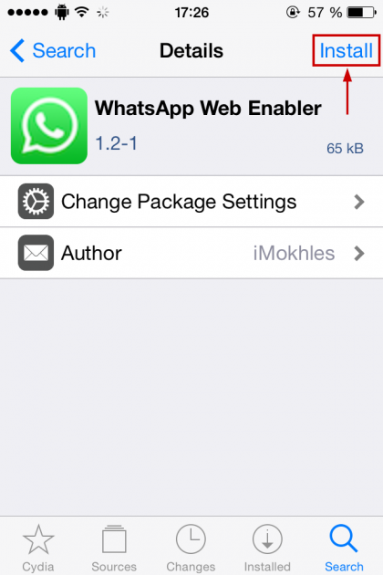 Outdated) Enable WhatsApp Web for older iPhones running iOS 4, 5, 6