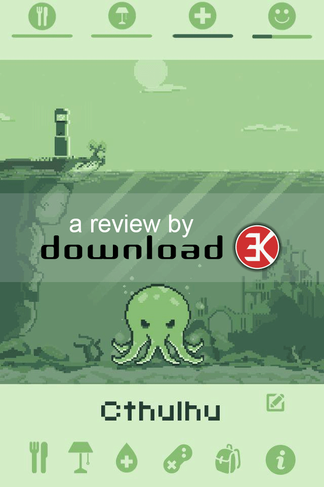 The Lovecraftian Cthulhu Turns Into A Cutelhu In Virtual Pet