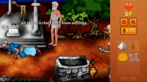 2 medium Greek mythology fans unite and help Zeus save the world in Zeus Quest Remastered