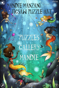 3 medium Create masterpieces in Mandie Manzano Jigsaw Puzzle Art