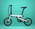 Xiaomi QiCycle Mi: Electric Folding Bike From Carbon-Fiber For Only $460!