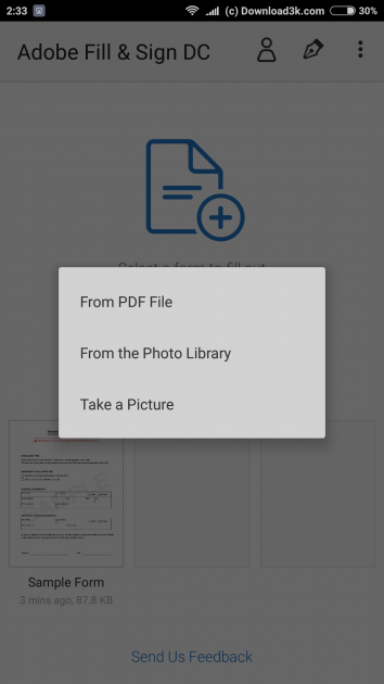 12 large How to add your signature on a PDF document using only your Android phone