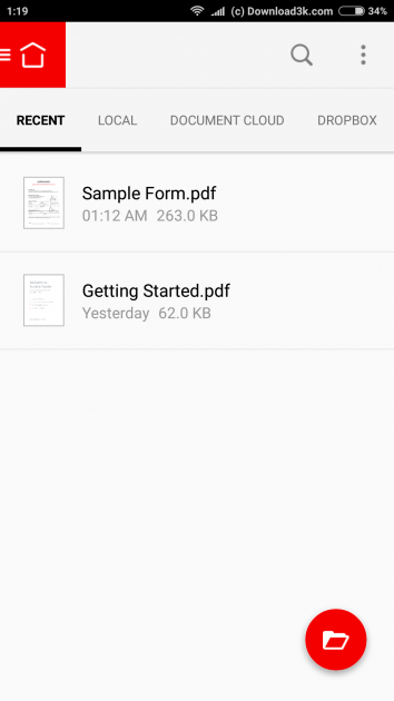 1 large How to add your signature on a PDF document using only your Android phone