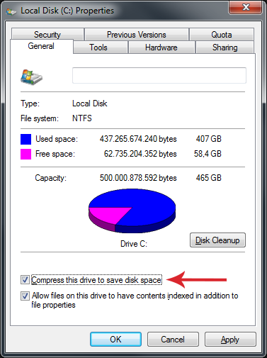 13 full How To Apply NTFS Compression To Save Disk Space