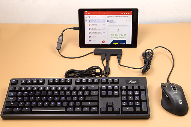4 full How To Connect A Keyboard Mouse or USB Flash Drive To Your Android Smartphone Or Tablet