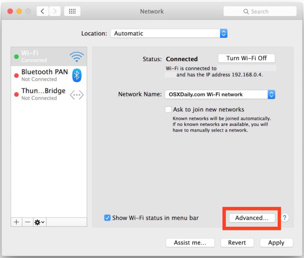 2 full How to Change Your DNS in Mac