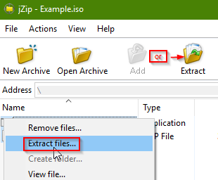 Extracting an ISO file in Windows 7 and Older - Best Third