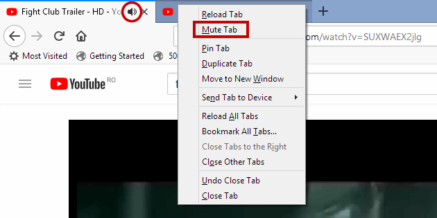 4 full How to mute audio in active or inactive tabs under Chrome Firefox Opera Edge Safari