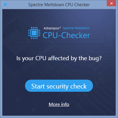 2 full The Easy Way to Check your System Against Spectre and Meltdown CPU Bugs and How to Protect it Against these Vulnerabilities