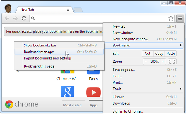 How to Back Up and Import/Export Browser Bookmarks