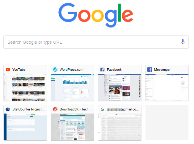 1 full How to force Chrome refreshregenerate thumbnails for its New Tab page tiles
