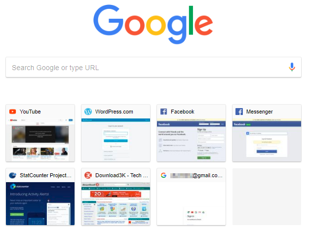 2 full How to force Chrome refreshregenerate thumbnails for its New Tab page tiles