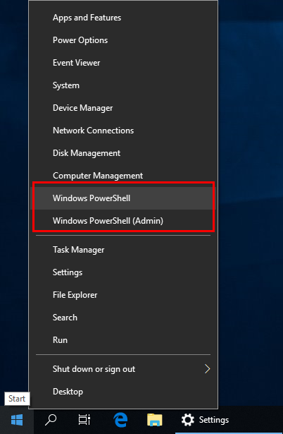 1 full Add Command Prompt back to Windows 10 WinX Power User menu