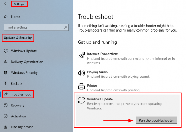 2 large An easy fix to try when Windows 10 Update is stuckfrozen
