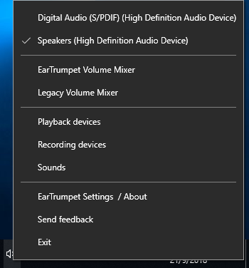 EarTrumpet review: A better alternative to the volume