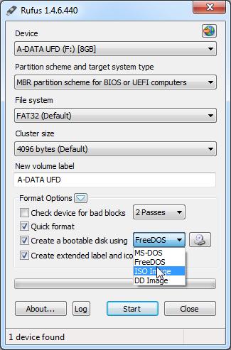 Make a bootable USB thumb drive Windows 8 installation using
