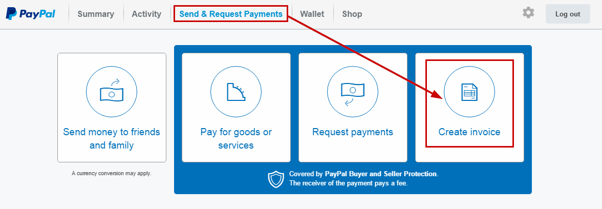 How To Add Or Remove Contacts From PayPals Address Book - How to create an invoice on paypal mobile online used book store