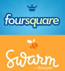 1 full Foursquare Splits Into Two Seperate Interfaces Introduces Swarm App to Take Over Social Features