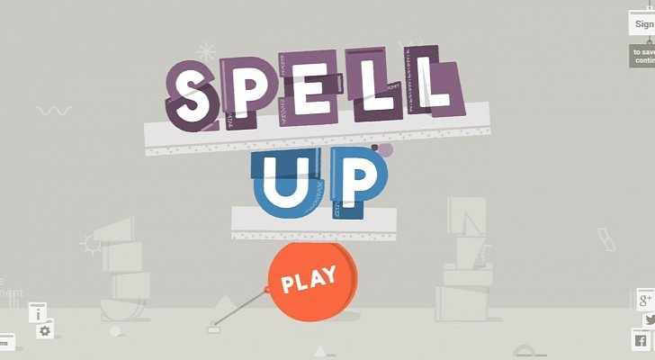 Improve your English with Spell Up: Google's New Web Game