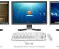How to use one Keyboard and Mouse on Multiple Computers using Synergy
