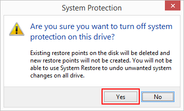7 full What is System Protection in Windows 8 and how to enable or disable it