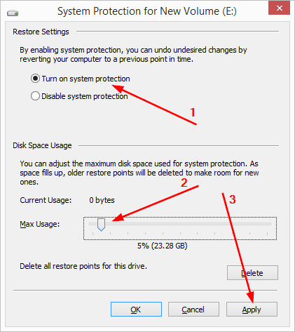 9 full What is System Protection in Windows 8 and how to enable or disable it