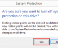 What is System Protection in Windows 8 and how to enable or disable it