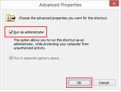 10 full How to create a desktop shortcut for the elevated command prompt or pin it to taskbar in Windows 8 10