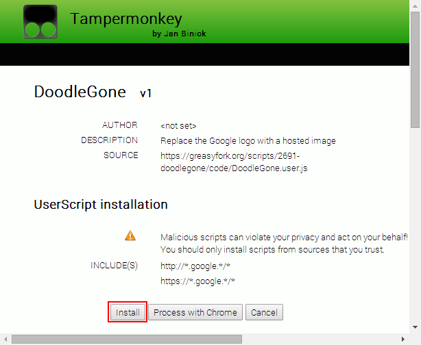 Tampermonkey Scripts For Chrome