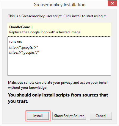 How to disable or avoid seeing Google Doodles in Chrome and Firefox