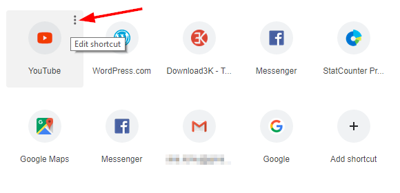3 full How to remove or restore a most visited site shortcut icon or tile in Google Chromes New Tab page
