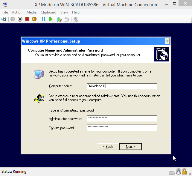 virtual machine download windows xp 32 bit