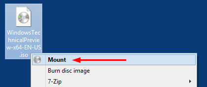How to re-enable ISO Mounting in File Explorer under Windows