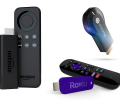 Battle of the Streaming TV Devices - Roku Streaming Stick vs. Google Chromecast vs. Mozilla Matchstick vs. Amazon Fire TV Stick
