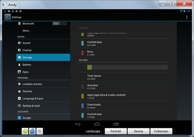 android emulator for pc review