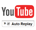 How to Auto Replay a YouTube video on Chrome, Firefox, Opera
