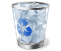 "How to empty Recycle Bin when it contains too many files and ""Empty Recycle Bin"" command won't work"