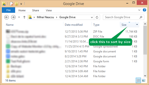 2 full QA How do I find the biggest files in my Google Drive account