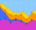 2D/3D Area Graph Software Screenshot 0
