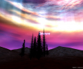 3D Aurora Screen Saver Screenshot 0