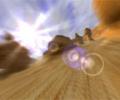 3D Canyon Flight Screensaver Screenshot 0