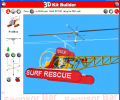 3D Kit Builder (Rescue Helicopter) Screenshot 0