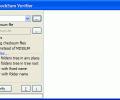 Advanced CheckSum Verifier Screenshot 0
