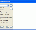 Advanced CheckSum Verifier Screenshot 0