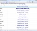 Advanced Font Viewer Screenshot 0