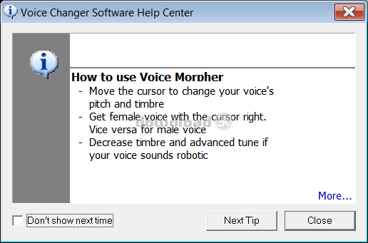 AV Voice Changer Software 7 0 68 Review - Free trial