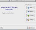 Absolute MP3 Splitter Converter Screenshot 0