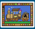 Coloring Book 5: Alphabet Train Screenshot 0